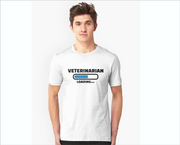 Veterinarian Loading T-Shirt