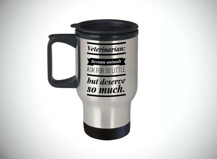 Veterinarian Travel Mug