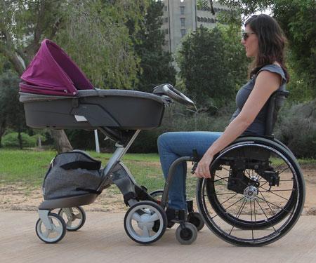 Wheelchair Stroller Connector