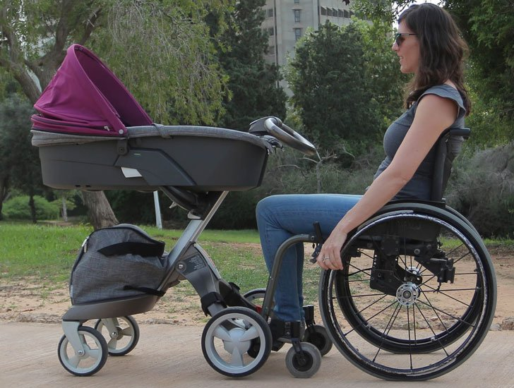 Wheelchair Stroller Connector