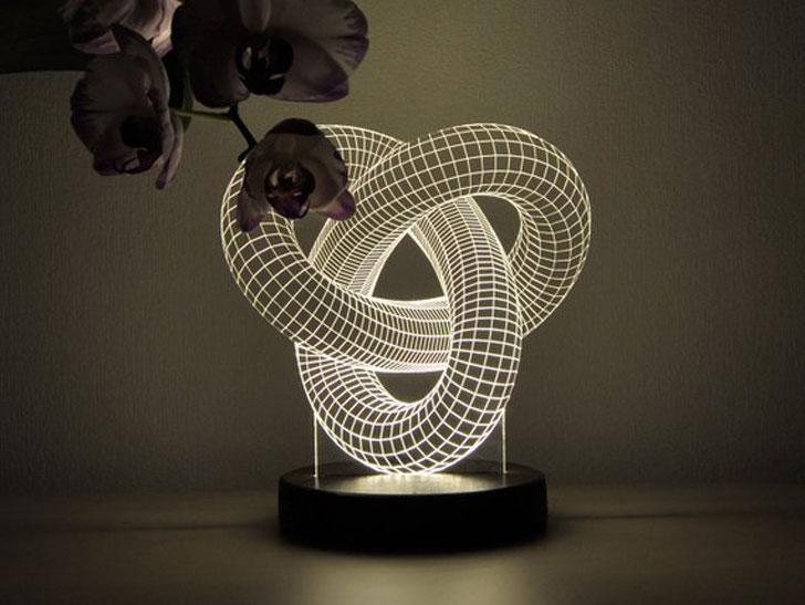 3D Illusion LED Light