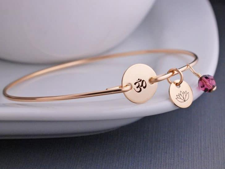 7 Chakra Om Tree of Life Bracelet