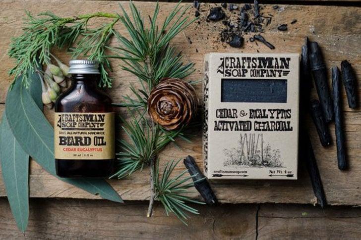Beard Oil & Natural Soap Grooming Kit