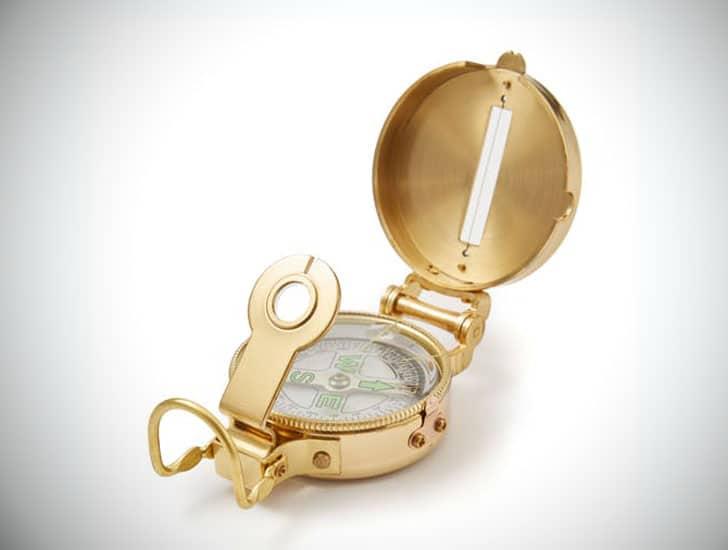 Brass Heritage Lensatic Compass