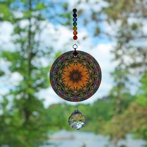 Chakra Mandala Suncatcher