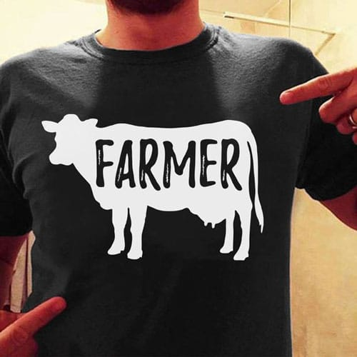 Cow Farmer T-shirt