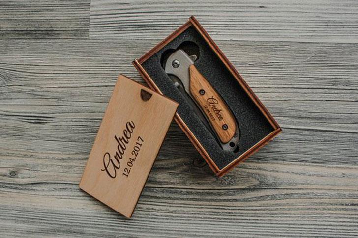 Engraved Mens Pocket Knife