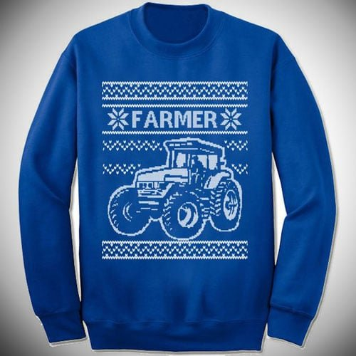 Farmer Christmas Sweater