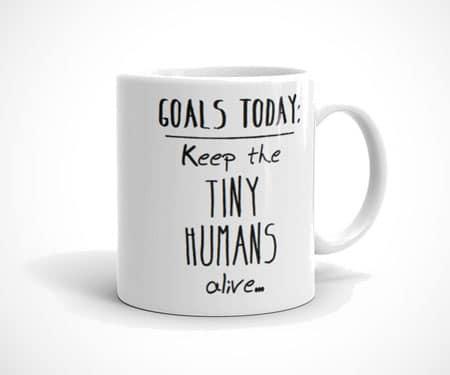 Feed the Tiny Humans Mug