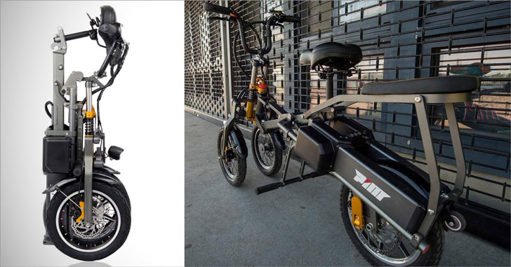 Folding E-bike