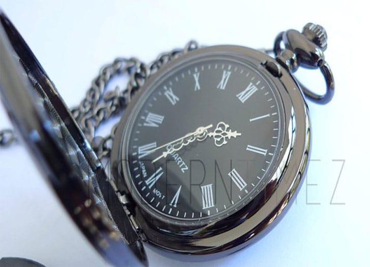 Gunmetal Finished Pocket Watch