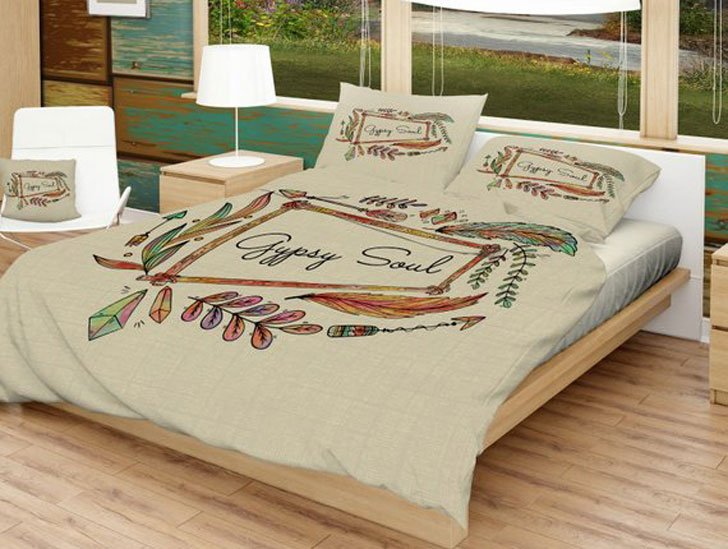 Gypsy Soul Bed Cover