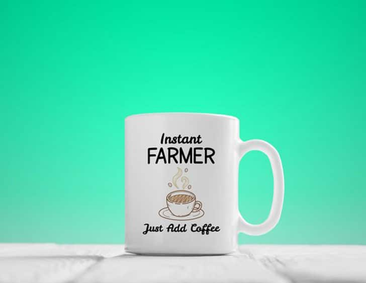 Instant Farmer Coffee Mug