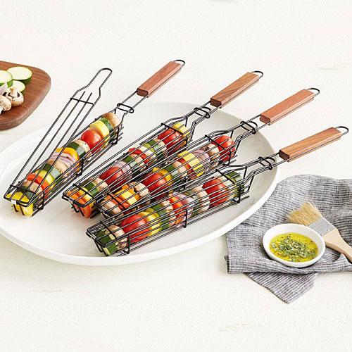 Kabob Grilling Baskets – Set of 4