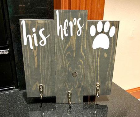 Key & Dog Leash Holder