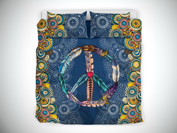 Mandala Peace Vibes Bed Set