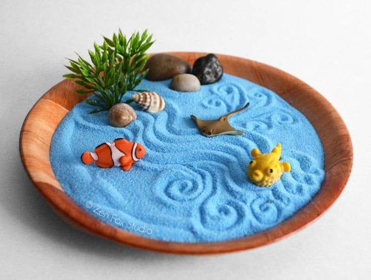 Mini Ocean Zen Garden