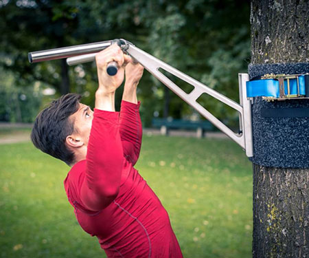 Portable Pull Up Dip Bar