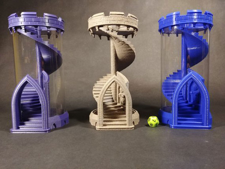 Rolling Dice Tower