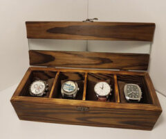 Rustic Personalized Watch Box