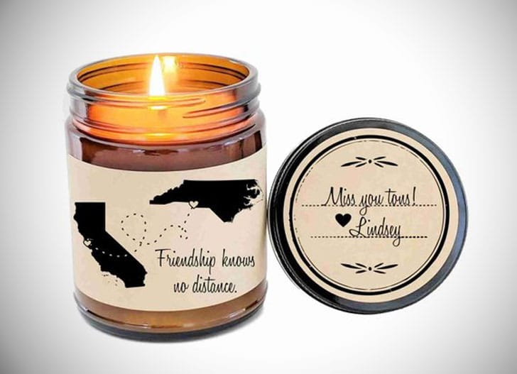 Scented Candle Long-Distance Birthday Gift