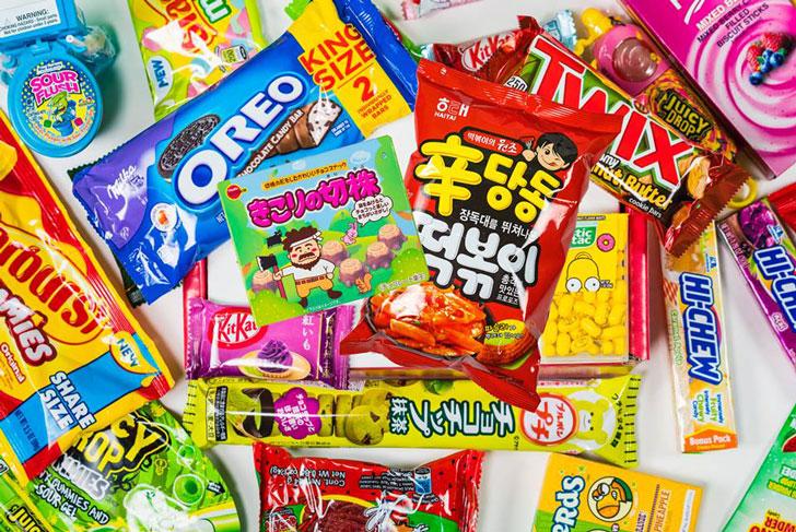 Munch Addict Snacks Subscription Box