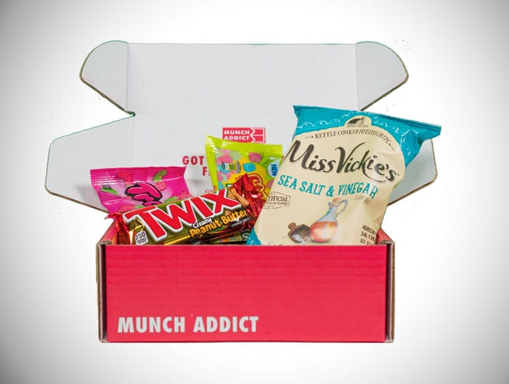 Munch Addict Snacks Subscription Box