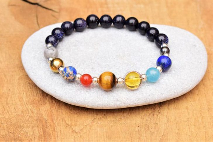 Solar System Galaxy Bracelet