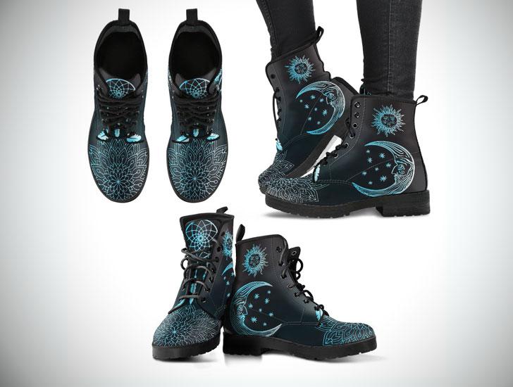 Sun & Moon Boho Boots