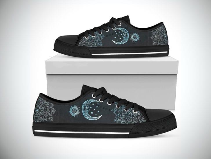 Sun & Moon Boho Boots lowtops