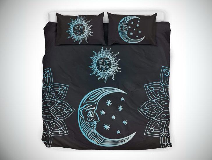 Sun & Moon Mandala - Blue