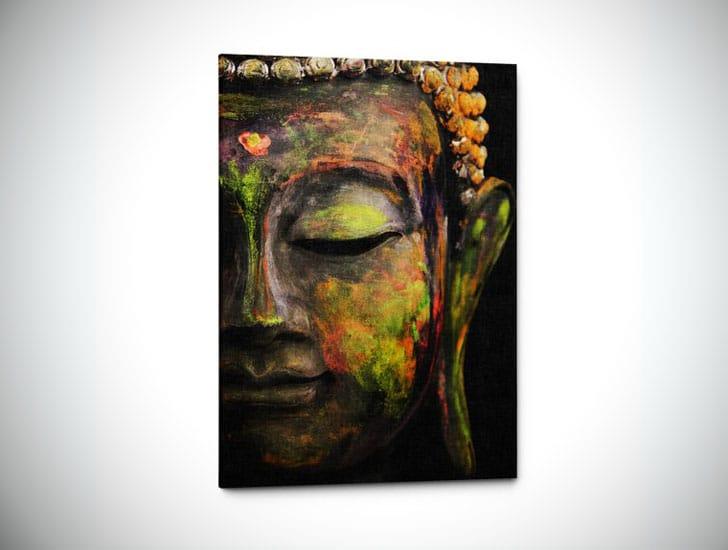 Tranquil Buddha Wall Art