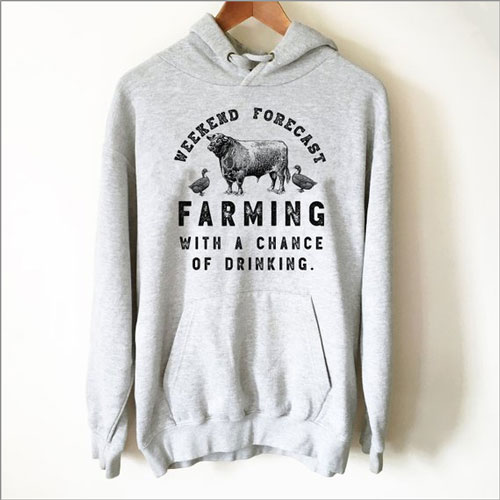 Weekend Forecast Farming Hoodie