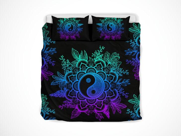 Yin Yang Mandala Bed Set