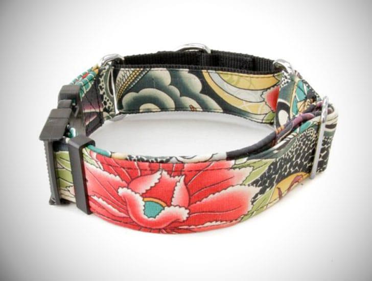 Zen Lotus Dog Collar