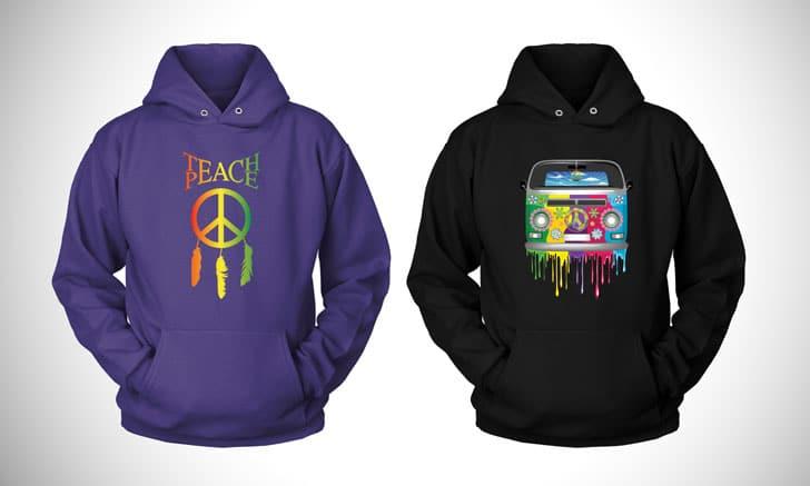 hippie hoodies