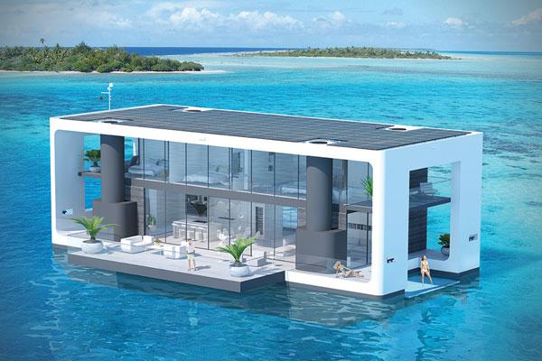 Arkup livable yacht.