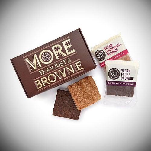 Benevolent Brownies - Vegan Box