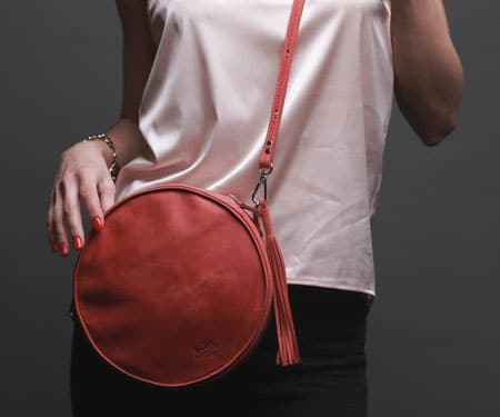 Crossbody Leather Purse Bag