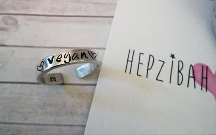 Hand Stamped !!Vegan!! 925 Sterling Silver Toe Ring