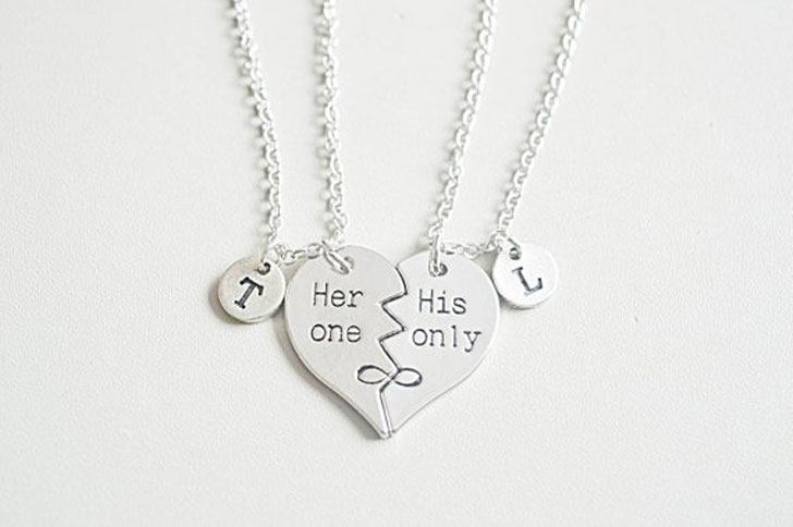 His and Hers Gift—Couples Necklaces
