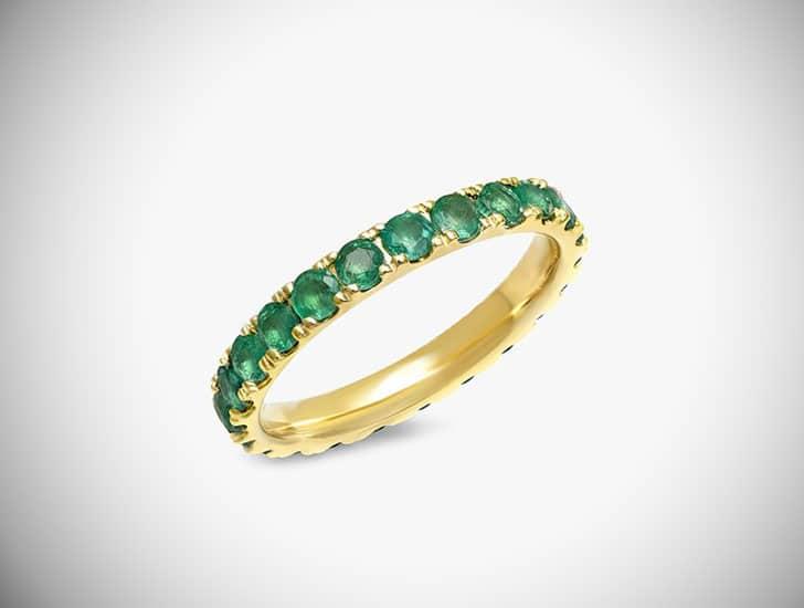 Large Emerald Band