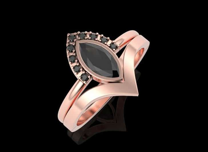 Minimalist Alternative Engagement Ring
