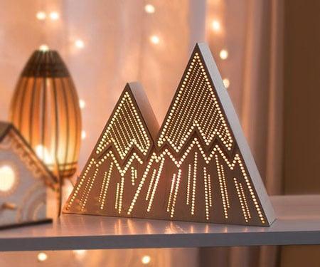 Mountain Night Lights