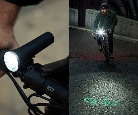 Projection Bike Light