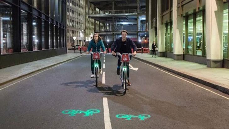 Projection Bike Light