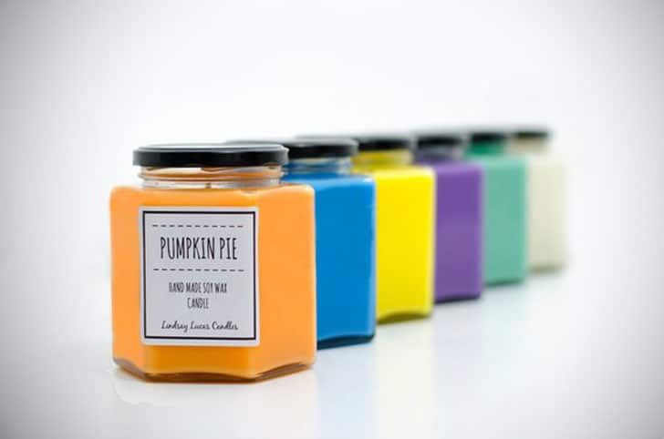 Soy Wax Candles Eco-friendly, Natural and Vegan Home Fragrance
