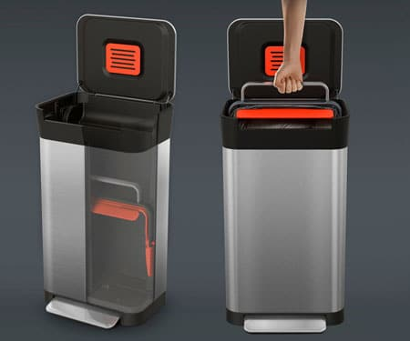 Trash Compactor Bin