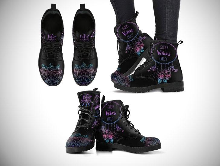 Vegan Leather Boots