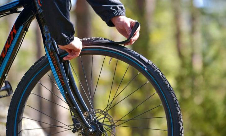 Zip-On Bike Tires